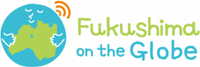 Logo of Fukushima on the Globe