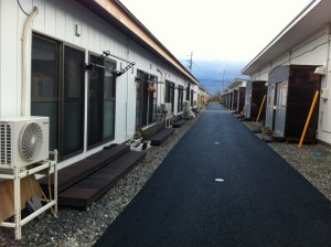 Temporary housing in Aizu District