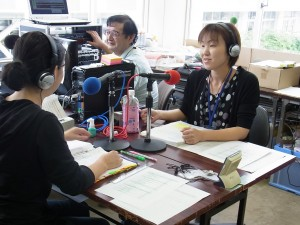 Community Disaster FM Studio supported by JVS