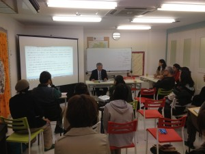 Hearing session at JANIC Fukushima Office