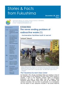 Stories and Facts from Fukushima Vol.6